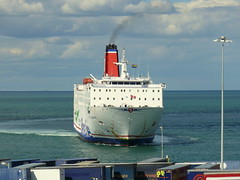 18 08 10 Stena Europe arriving Rosslare (19) (pghcork) Tags: stenaline ferry ferries carferry stenaeurope ireland wexford rosslare ships shipping