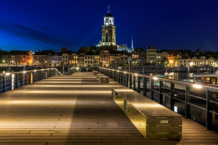 Deventer @Bluehour cityscape