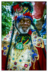 Carnival! (Photography And All That) Tags: man carnival caribbean costume colour colours colourful sony sonyalpha7mark3 sonyalpha sonyilce7m3 ilce7m3 badge badges jewel jewels jewellery beard bearded longhair caribbeancarnival whitephotoborder portrait portraits people portraiture posing pose poses