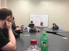 Starbase 22 meeting (Michael Vance1) Tags: sf sciencefiction movies books comics horror western tv discussion club tulsa