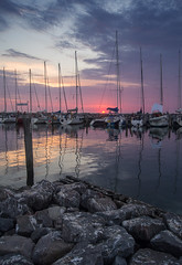 Timmendorfer Hafen (martha hoo) Tags: hafen ostsee balticsea water schiffe habour landscape landschaft sonnenuntergang sunset sommer