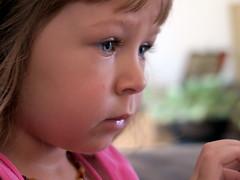 Pensive (LILI 296...) Tags: maelys fillette girl enfance canonpowershotg7x portrait child children