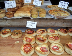 Quiche and Pies on a market stall (Tony Worrall) Tags: food eat eaten foodie foodporn chow stall cook cooked cookery fed feed chew grub picsoffood foodphoto foodphotography shots buy sell stock items sale made meal lunch make delicious