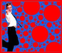 subatomic funk (maj488/mike) Tags: art artwork pop popart dancer dancing dance blue red psychedelic