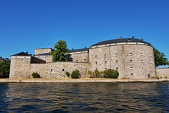 Kastellet (Douguerreotype) Tags: castle fort historic sweden buildings stone sverige stockholm architecture military water