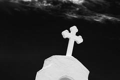 Sacred Place - Cocoa, FL (ChuckPalmer {cepalm}) Tags: bw cocoavillage church cross florida sacred chuckpalmer