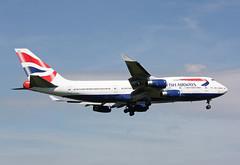 G-BYGB Boeing 747-436 British Airways (corkspotter / Paul Daly) Tags: gbygb boeing 747436 b744 28856 1194 l4j cpmr 4006b2 baw ba british airways 1999 19990117 lhr egll london heathrow