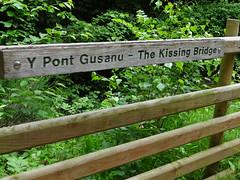 Photo of The Kissing Bridge, Offa's Dyke Path