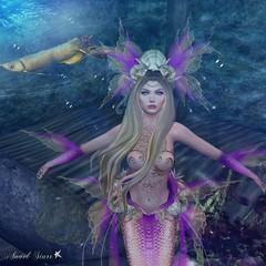 Virtual Trends: Bubbles Under the Sea (Anaelah ~ Miss Virtual Diva 2018) Tags: irrisistible shop koikoi mermaid sl second life fantasy
