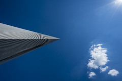 architecture - sun - cloud (stefanfricke) Tags: architecture sun clouds blue lookingup dresden sony ilce7rm2 sel1635z