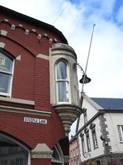 Steeple Lane, Brecon 2 August 2018 (Cold War Warrior) Tags: streetname streetsign enamel brecon