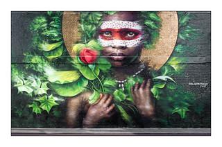 Street Art (Dale Grimshaw), East London, England.