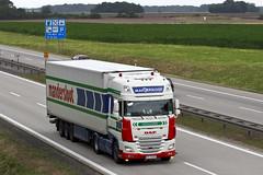 "Daf xf116 "" MANDERSLOOT "" (PL) (magicv8m) Tags: tir trans transport lkw daf"