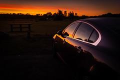 Go Faster Stripes (scamart1st) Tags: car curves sunset sun reflection light colour calm serene vivid jaguar