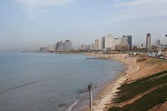 Tel Aviv ahead (Ievinya) Tags: coast shore sea jūra krasts telaviv jaffa jaffo džaffa mediterraneansea vidusjūra houses buildings ēkas mājasarchitecture arhitektūra ainava landscape israel izraēla