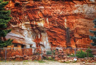 A portion of the Moqui Cave System near Kanab Utah