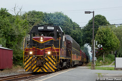 Dinner Train at West Barnstable (Roman Daniels) Tags: mc 2007 west barnstable ma dinner train cape cod