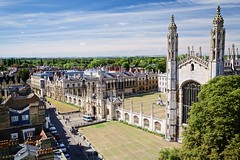 king's college (khrawlings) Tags: kings college cambridge england church chapel university building architecture towers parade great stmarys