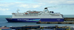 18 08 10 Oscar Wilde departing Rossalre  (1) (pghcork) Tags: oscarwilde rosslare ferry ferries carferry irishferries ireland wexford