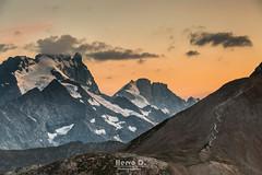 La Meije, fin du jour. (Hervé D.) Tags: oisans ecrins meije rateaunmontagne mountain sunset coucherdesoleil alps alpes hautesalpes 05