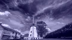 Blue - 5383 (YᗩSᗰIᘉᗴ HᗴᘉS +17 000 000 thx) Tags: blue windmill laowa laowa12mm moulin hensyasmine namur belgium europa aaa namuroise look photo friends be wow yasminehens interest intersting eu fr greatphotographers lanamuroise tellmeastory flickering