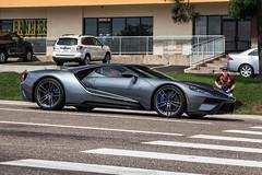 Road Presence (Hunter J. G. Frim Photography) Tags: supercar colorado 2017 ford gt american gray silver stripes v6 turbo fordgt 2017fordgt hypercar