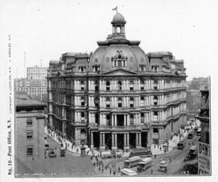 img319 (foundin_a_attic) Tags: postcard newyorkcity oldpostoffice broadway parkrow