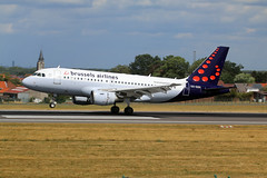 OO-SSH (wiltshirespotter) Tags: brussels bru ebbr airbus brusselsairlines a319