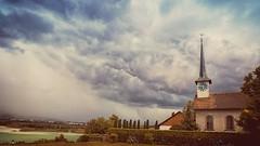 stormy times (_andrea-) Tags: sonya7m2 samyang objektiv kirche seegräben gewitterstimmung stormy wideangle outdoor clouds pfäffikersee