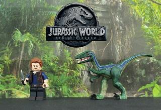 LEGO Jurassic World: Fallen Kingdom - Custom Painted Minifigures