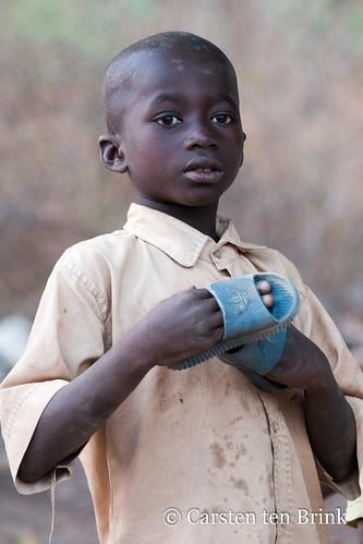Korhogo child
