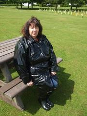 DSCF1920 (mistressmol100) Tags: pvc raincoat boots