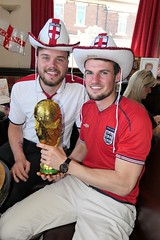 Come on England. (CWhatPhotos) Tags: cwhatphotos england world cup trophy portrait