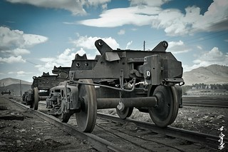 railway winch...