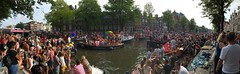 Pride Amsterdam 2018 (rob.brink) Tags: pride canal gay lesbian amsterdam netherlands holland nederland dutch lhtbiq lhtb queer festival parade party equality liberty freedom acceptance city urban water boat westerkerk prinsengracht gracht monument