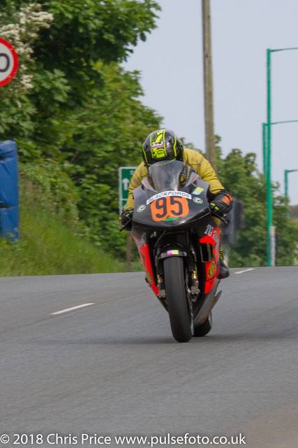 Pre TT Classic Billown 2018 Geoff Duke - Junior Superbike Post  Classic Race