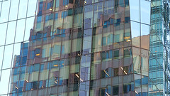 A16620 / high-rise reflecting like madras plaid (janeland) Tags: sanfrancisco california 94105 february 2018 financialdistrict architecture highrise reflections abstract skyscraper