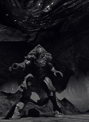 not even my final form (Rakkhive) Tags: doom3 doom classicgame firstpersonshooter horror hell screenarchery screenshot gamephotography reshade idsoftware