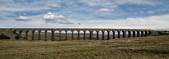 Finale? (Blaydon52C) Tags: ribblehead viaduct yorkshire settle carlisle railway rail train colas 60021 70813 bridge scenic chirk logs 6j37