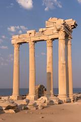 Temple of Apollo, AD II (Side, Turkey) (Ella Ca) Tags: ancient roman temple apollo templeofapollo side asiaminor architecture
