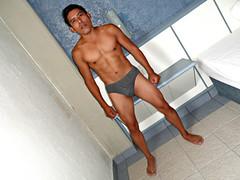 underwear (scottyshot) Tags: mexican mexicano latino native american indian indigena sexy guapo handsome body cuerpo muscles fitness male model modelo masculino underwear ropa interior trusas
