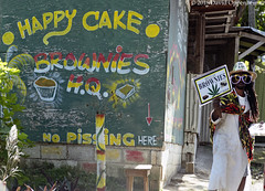 Jamaica Ganja Brownie Store (Performance Impressions LLC) Tags: ganjabrownies potbrownies ganja jamaica jamaicaganja potbrowniesstore store sign nopissing happycake hq edibles brownies eat marijuana cannabis ochorios saintann tropical caribbean travel vacation tourism island coast jm
