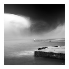 Vortex (picturedevon.co.uk) Tags: shoalstone pool brixham torbay devon uk fineart abstract bw blackandwhite composit seascape sea water tide le longexposure mono coast grey seagull bird animal waves storm canon nisi ndfilter wwwpicturedevoncouk