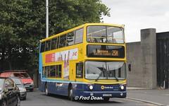 Dublin Bus AV404 (05D10404). (Fred Dean Jnr) Tags: dublin september2014 busathacliath dublinbus croad dublinbusyellowbluelivery volvo b7tl alexander alx400 dublinbusroute25x transbus av404 05d10404 stjohnsroadwestdublin