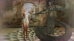 Medusa's Gaze (Victoria Konnor James) Tags: onalark purepoison ama lyriumposes pravdadc truth maitreya catwa insol aviglam izzies redeux