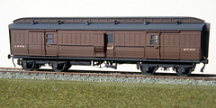 Clerestory bogie van (Garter Blue) Tags: ecjs ds model bg bogie brake van 4mm scale oo clerestorycoachukstock lner film om2 ektachrome
