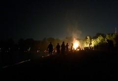 fire parade (helloflower!) Tags: toronto fireparade ward'sisland bonfire beach