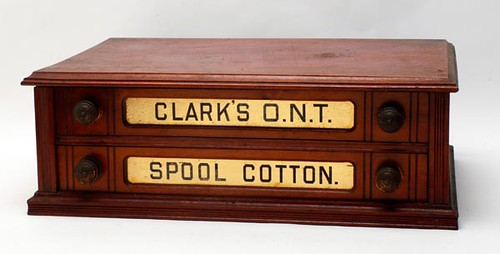 Clark's Spool Cotton Cabinet ($235.20)
