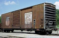 UP 517109 (Chuck Zeiler) Tags: up 517109 railroad boxcar freight car box cotter train chuckzeiler chz