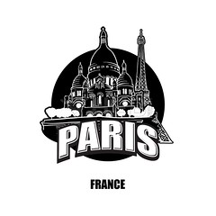 Paris, France, black and white logo (Hebstreits) Tags: architecture art attraction background basilica black building capital card cathedral church city coeur destination dome drawing europe facade famous france french greeting hand heart heritage historic icon illustration isolated journey landmark montmartre monument old outline paris poster sacre sacred symbol tour tourism tourist tower town travel trip vector white